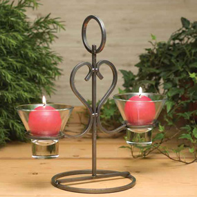 Danish Iron Candleholder (99249)