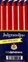 Liljeholmens Stearin Dripless Candles 4""