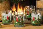 Nordic Accent Tomte in Forest Glasses