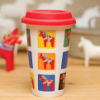 Sagaform Thermal Dala Horse Mug