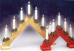 Swedish Electric Candelabra