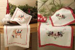 Julbock & Dompap Table Linens