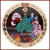 Royal Copenhagen 2010 Hearts of Christmas Plate