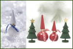 Swedish Wooden Round Tomte