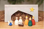 Swedish Wooden Nativity