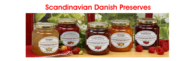 Scandinavian Danish Preserves