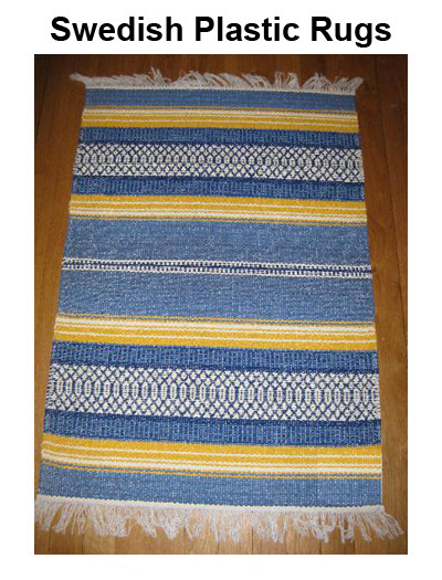Swedish Plastic Rugs