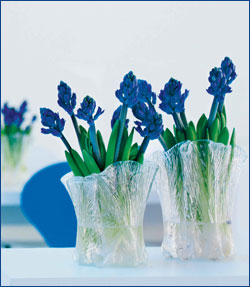 "Norwegian Hadeland ""Furu"" Glass Vases"