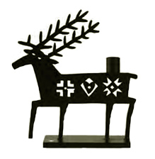 The Deer Candleholder