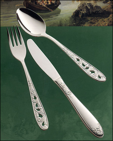 Norwegian Stainless Flatware - Kristin design